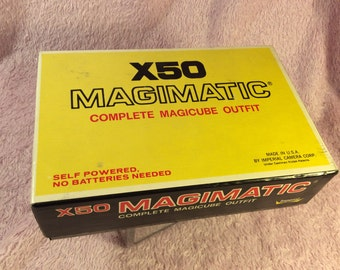 Vintage Magimatic X-50 in box