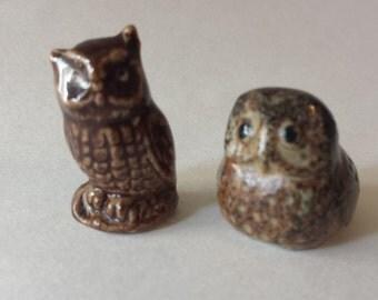 Vintage Owl Figurine, Animal Figurine, Made In Japan