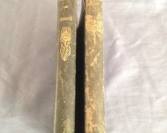 Vintage Shirley by Charlotte Bronte with Guy Mannering by Sir Walter Scott