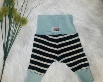 Bamboo Leggings + Modern Handmade Leggings + Baby Shower Gift + Gender Neutral + Boy Girl Infant + High Quality