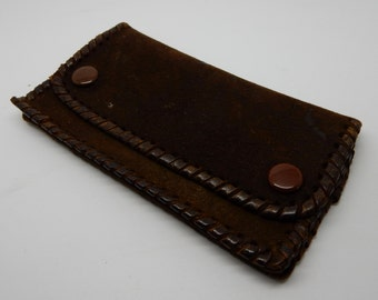 A Lovely Vintage Brown Coin Purse,good condition, Retro,Boho