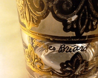 W.O.W.   Georges Briard 22 Kt Gold-Embellished Highball Glass