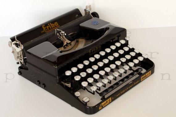 mod le de machine crire erika s machine par typewriterpassion. Black Bedroom Furniture Sets. Home Design Ideas