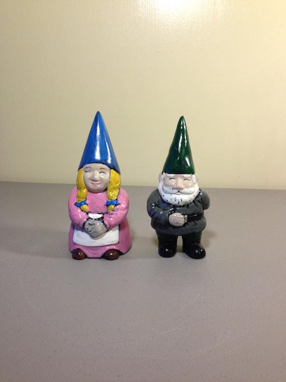 Female Garden Gnomes: Male And Female Garden Gnomes Gift Garden Statue Patio