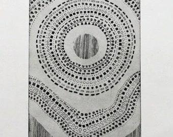 Original Etching on Paper