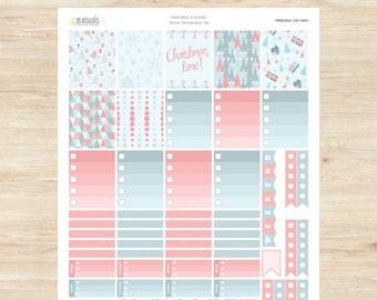 Erin Condren - Winter Wonderland Set - Printable Stickers