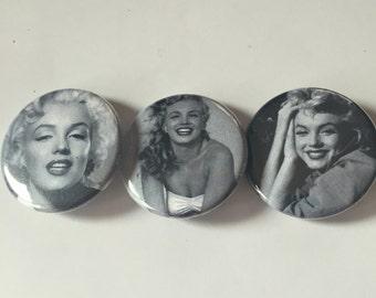 Marilyn Monroe 3 pin pack