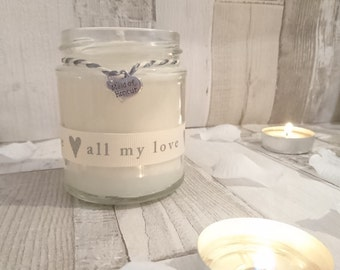 Maid of Honour (all my love) Scented Candle