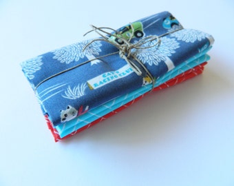 ON SALE  Racing Cats Fat Quarter Bundle By Yuwa And Cloud9 Fabrics