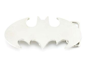Batman Silver Belt Buckle