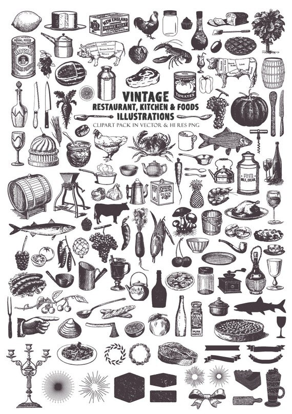 Farm Clipart Farmers Market Cooking Food Kitchen Clip Art PNG Vector EPS AI Design Elements Download From