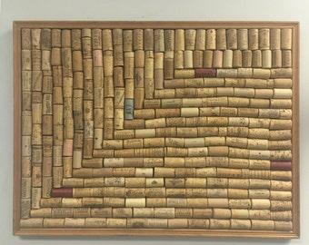 Wine cork tac board