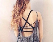 Cutout Vest Crop Top Bralette Tank Cami Blouse Sexy Lady Padded Bra Tops Bustier - Perfect Christmas Gift