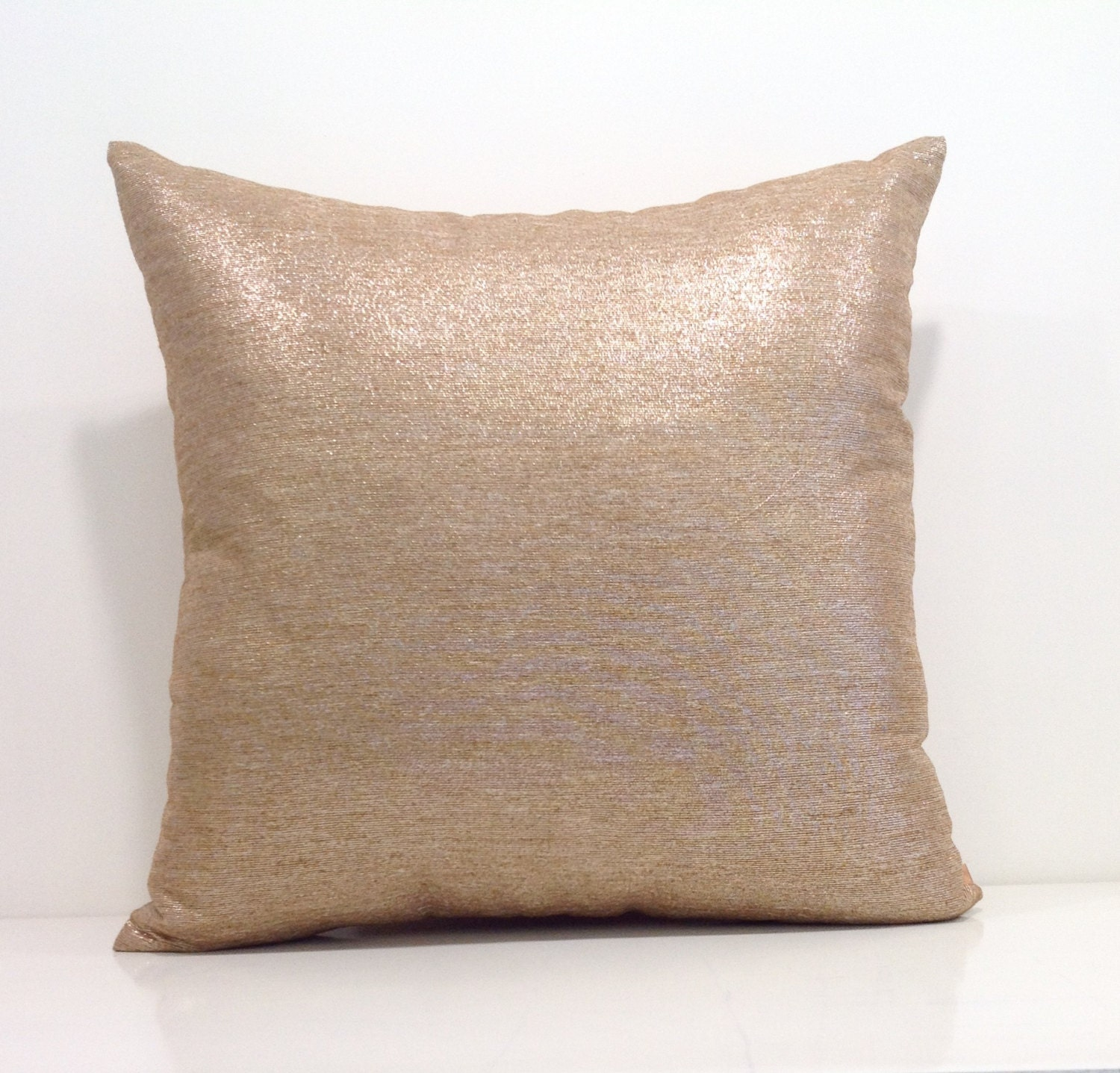 Throw Pillows Gif : Metallic Pillow Cover Gold Throw Pillow Covers 18x18 Pillow