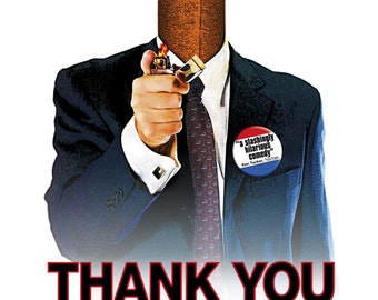 Thank You for Smoking Movie POSTER (2005) Dramedy