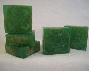 Lime & Mint Luffa Soap, Luffa Soap, Loofah Soap, Natural Exfoliating Soap