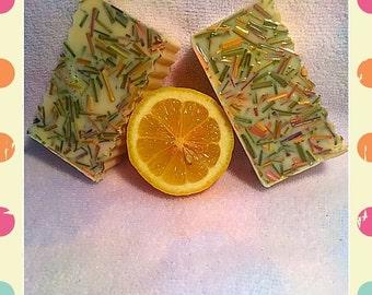 Lovely Lemongrass Bar Soap