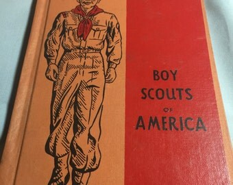 Vintage Boy Scout Book Geology