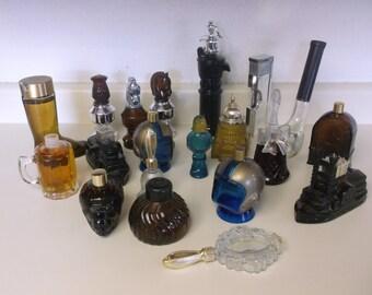 Vintage Avon Bottles - 20 - Some are 70-100% Full