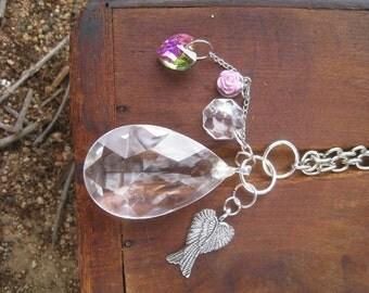 Chandelier Crystal Pendant Necklaces