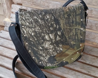 Concealed Carry Purse, Handbag, Camo purse, Cross Body Bag, Concealed Carry Bag,  Shoulder Bag, CC Purse, Black Purse