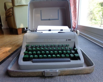 Royal Typewriter with case- very clean
