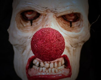 Scary Clown Life-size Resin Wall Hanger