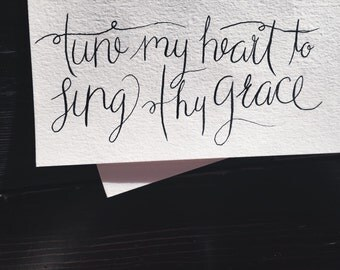 Tune My Heart - Print