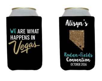 Personalized Insulated Beverage Containers, Convention, Favors, Custom, Work, Vacation, Girls Trip, Bridal Shower, Business Trip, Can Cooler