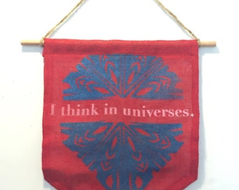 Universe Wall Banner (red)