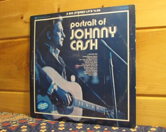 Johnny Cash - Portrait of Johnny Cash