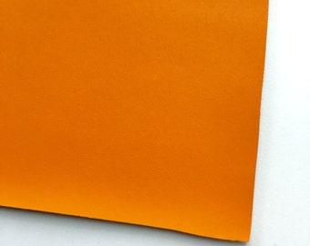 Orange Vegan Faux Leather, Vinyl, Leatherette, Orange, Vegan Leather, Hair Bow, Fake Leather, Faux Leather Sheet, Orange Leather, Hair Bow