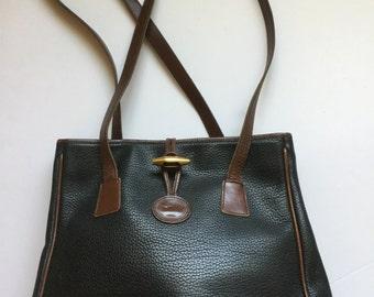 Vintage Dooney & Bourke Black Leather Purse
