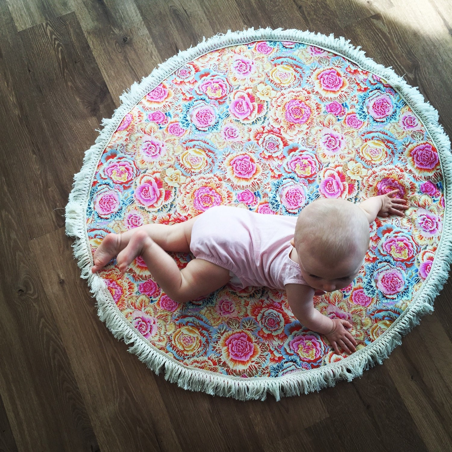 baby play mat tummy time mat tummy time rug padded baby. Black Bedroom Furniture Sets. Home Design Ideas
