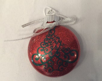 Decorative Christmas Tree Ornament