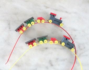 Train Headband Fascinator