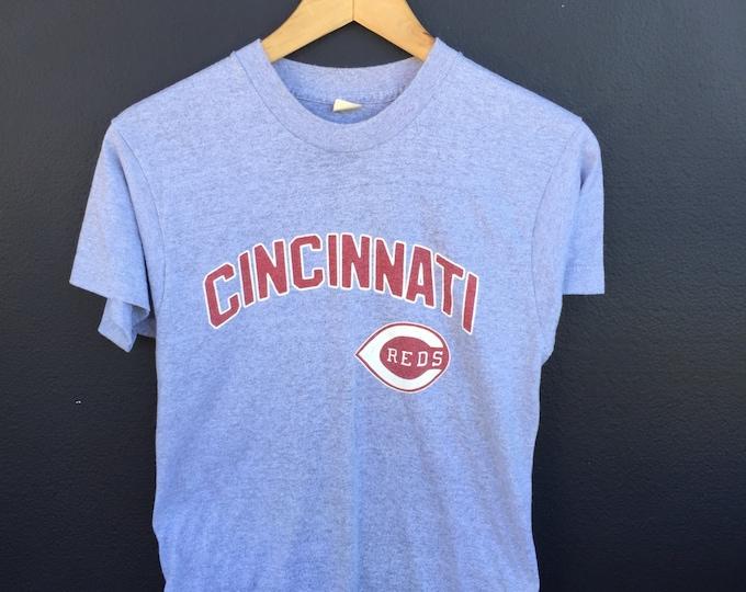 Cincinnati Reds MLB 1980s vintage Tshirt