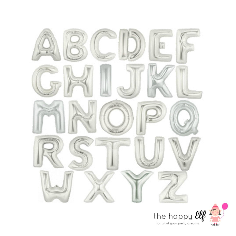 16 silver custom balloonbanner custom letters silver letter balloons silver 16 letter balloons gold word balloons