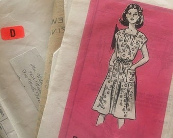 Vintage 60's Mail Order Pattern 4851-Sizes 14-20