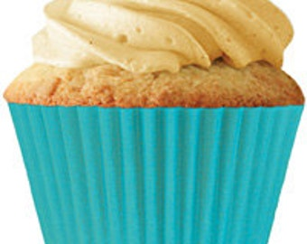 Turquoise Standard Cupcake Liners (30 pcs)