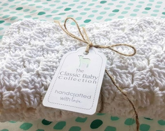 100% Organic Cotton, Handcrafted, Security Blanket