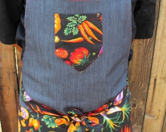 The Ortaggio Denim Apron