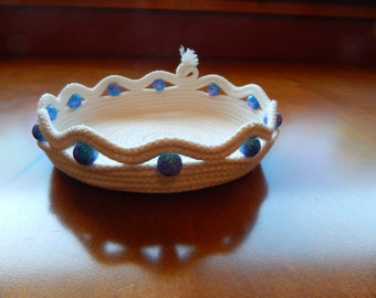 Beaded Rope Dish