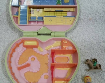 1989 - Polly Pocket Polly's Pony Club - Complete