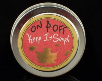Vegan Maple Syrup Solid Perfume/Sample 0.5oz