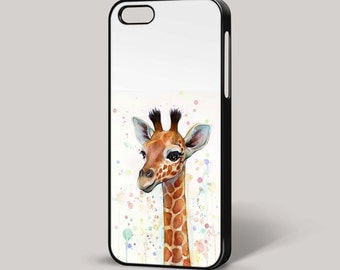 Giraffe Pop Art Quirky iPhone Cover 4/4S 5/5S 5C 6 6 Plus Phone Case Samsung HTC Nokia