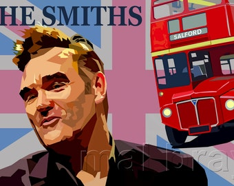 And if a Double Decker Bus..........Morrisey, The Smiths