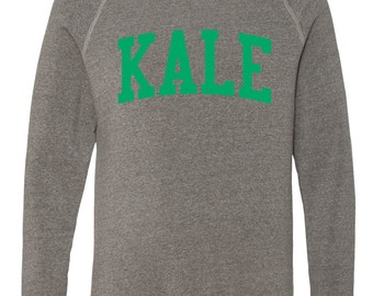 KALE Collegiate Inspired Gray Sweatshirt