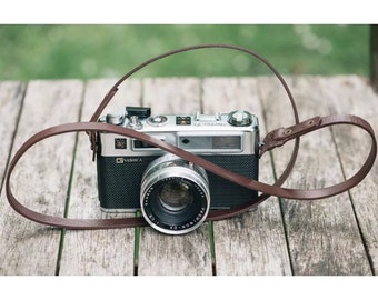 Handmade Vintage Leather Camera Strap