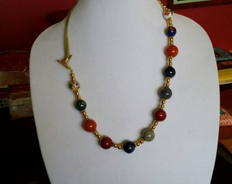 1g-0005: Bling necklace